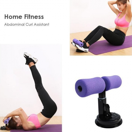 Suction Cup Fitness Sit Up Bar Assistant Gym Exercise Resistance