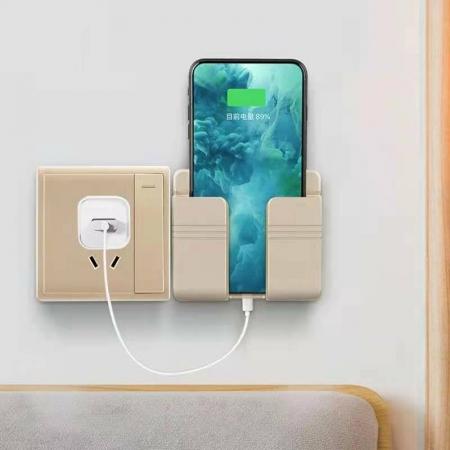 Mobile phone plug bracket.