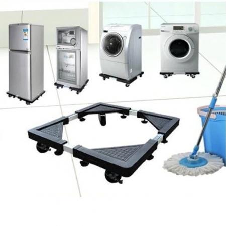 Heavy Duty Mount Fridge Adjustable Stand rack With Wheels Washing...