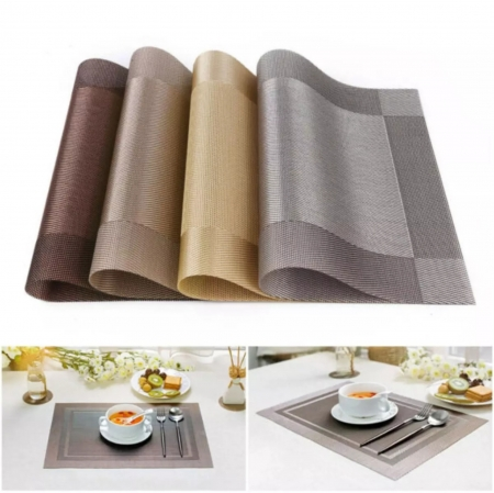 High Quality Square Shaped Dining Table Mat