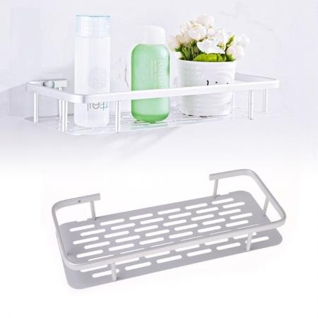 Space Aluminum Bathroom Shelf