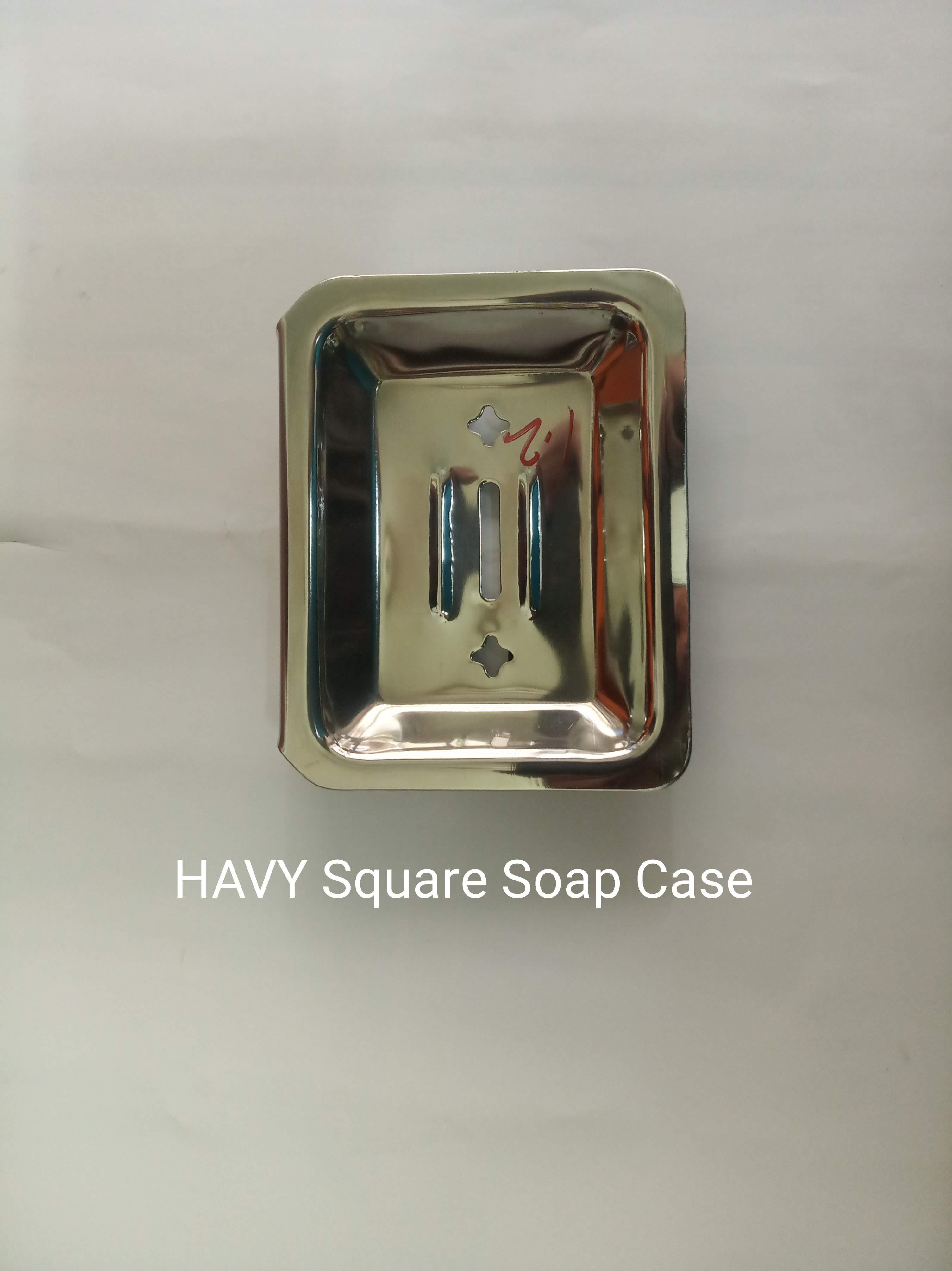 Heavy Square Soap Case