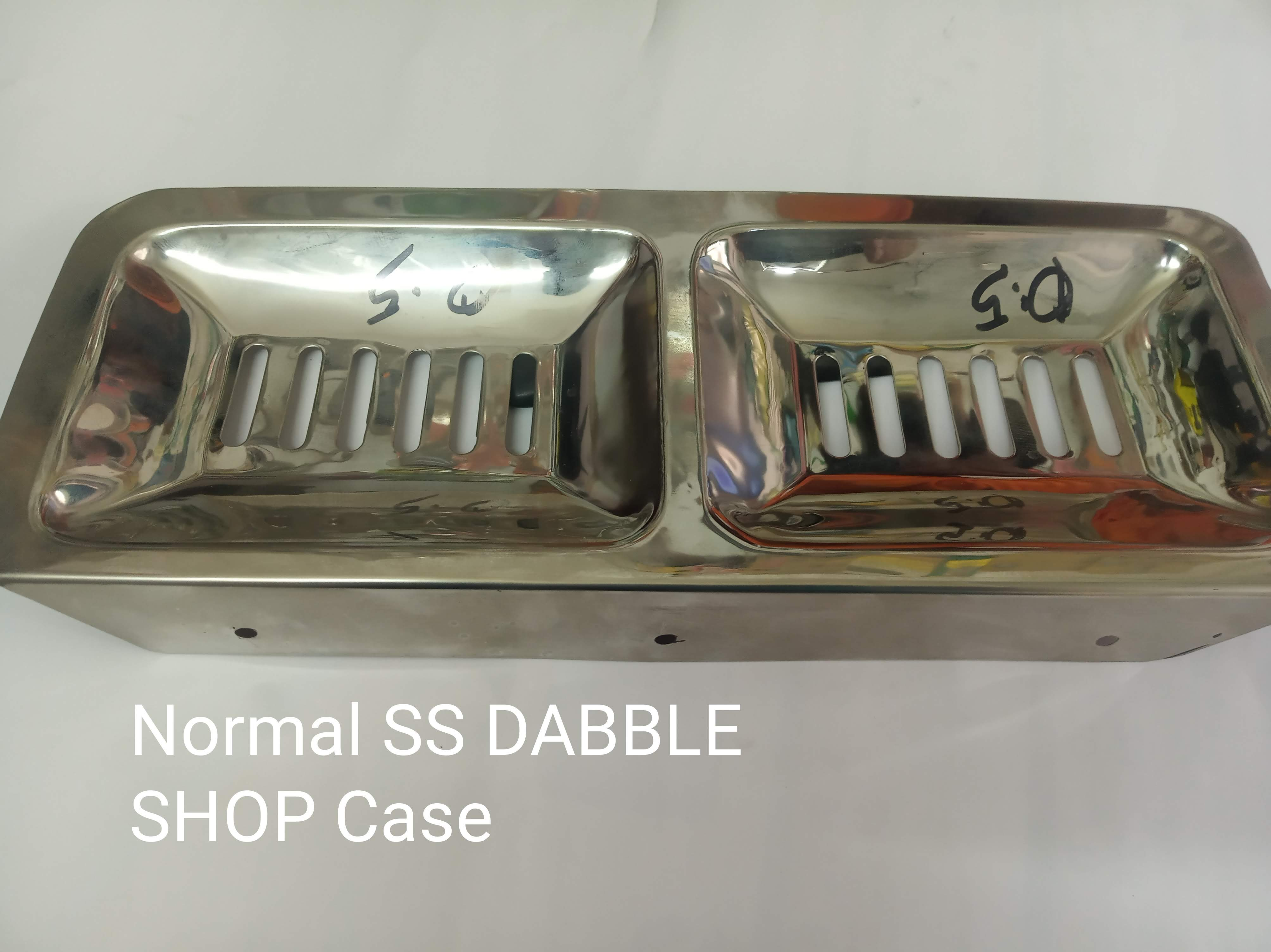 Normal SS Double Soap Case