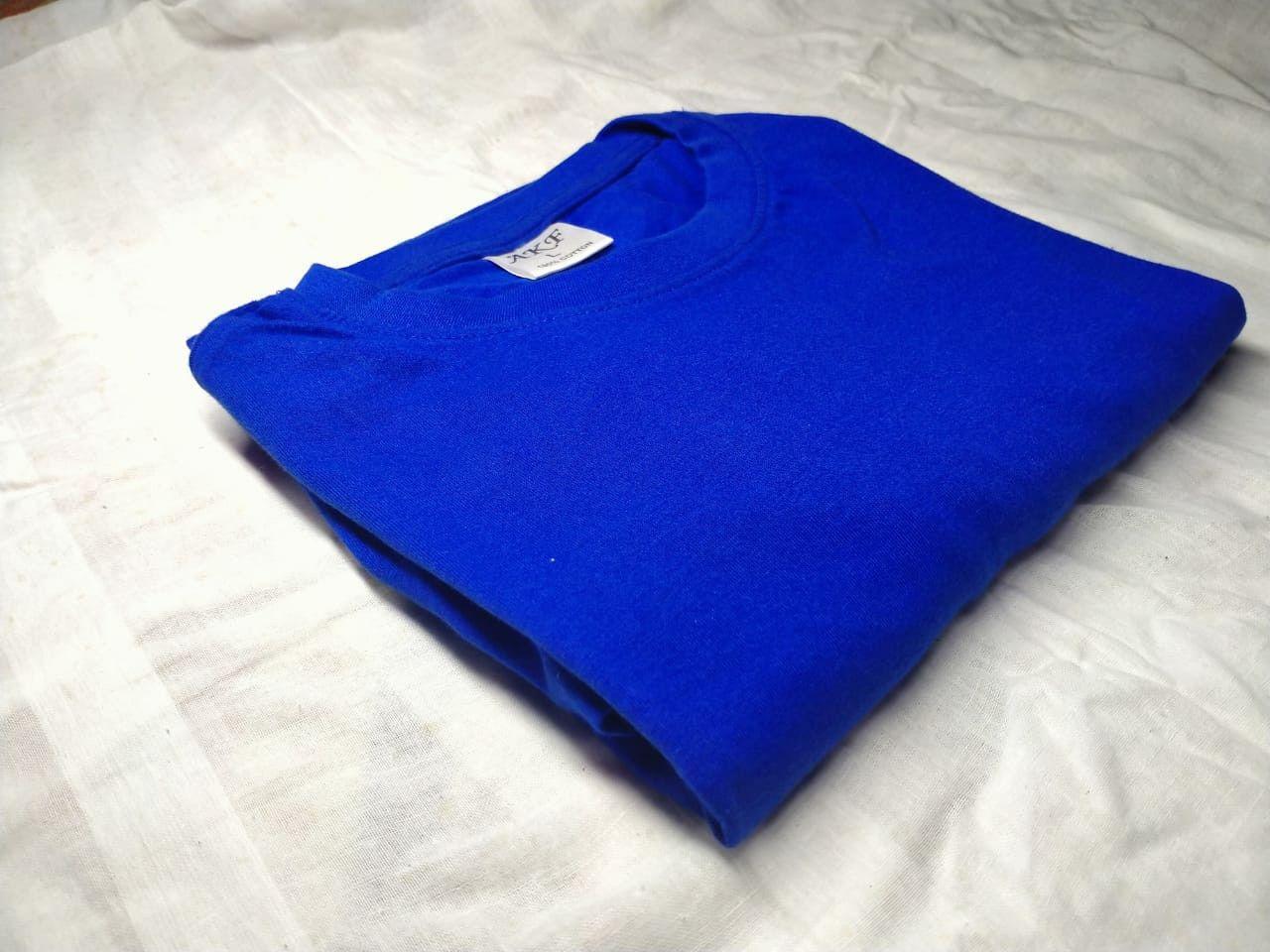 Solid T-Shirt - Royal Blue