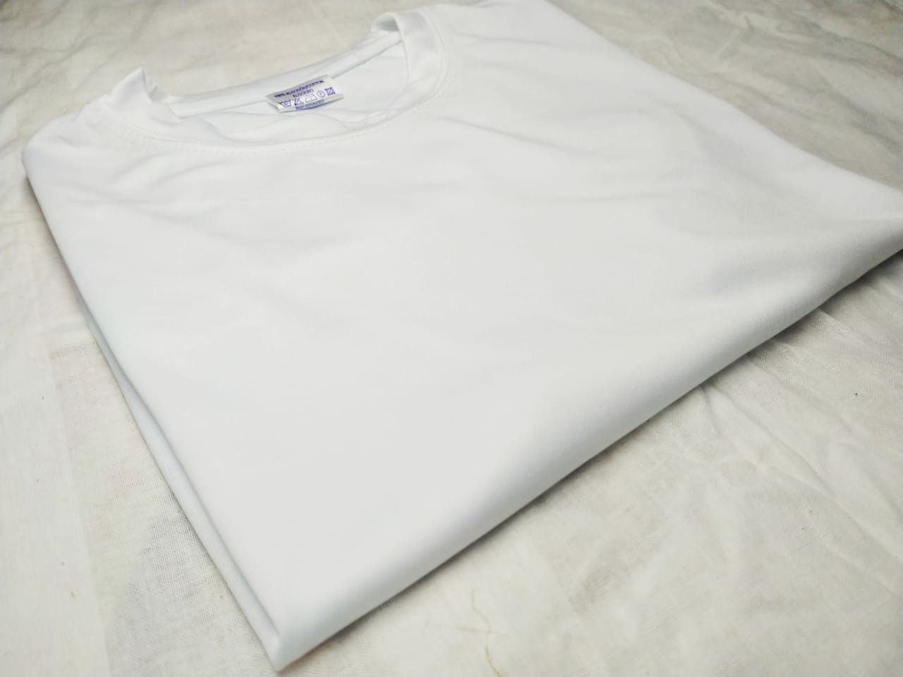 Solid T-Shirt - White