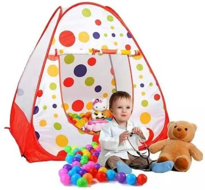 Magic Tent House with Balls for Kids