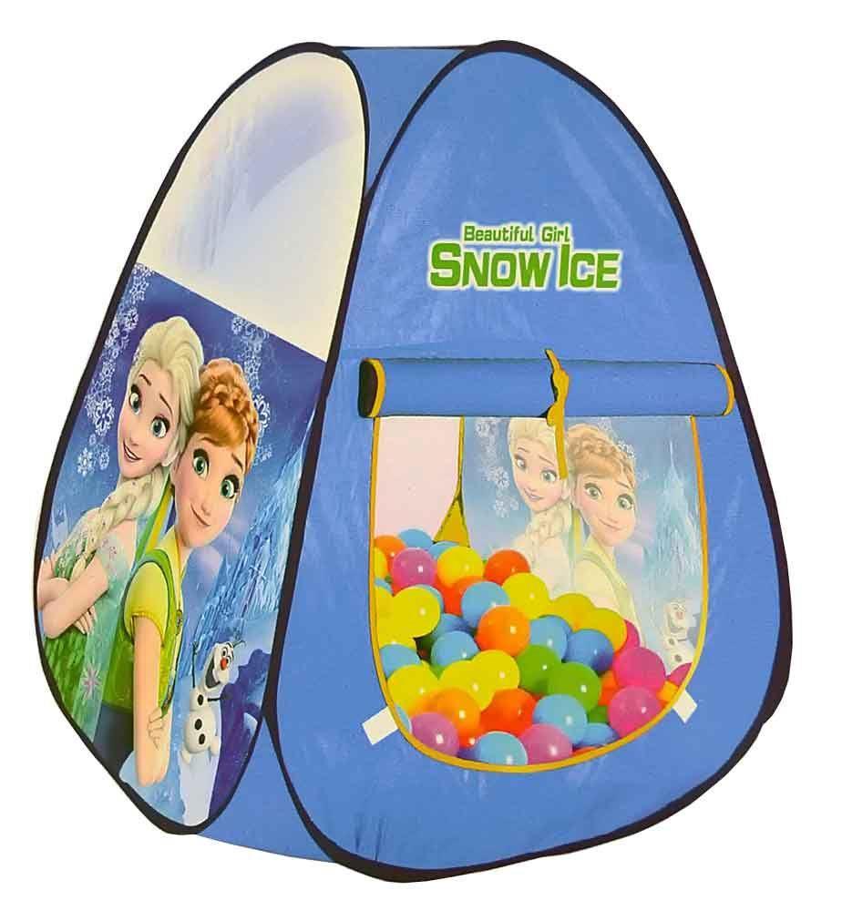 Baby Tent House 50 Ball Frozen Print
