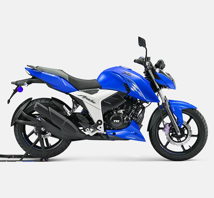 TVS Apache RTR 160 4V DD Refreshed Edition Motorcycle