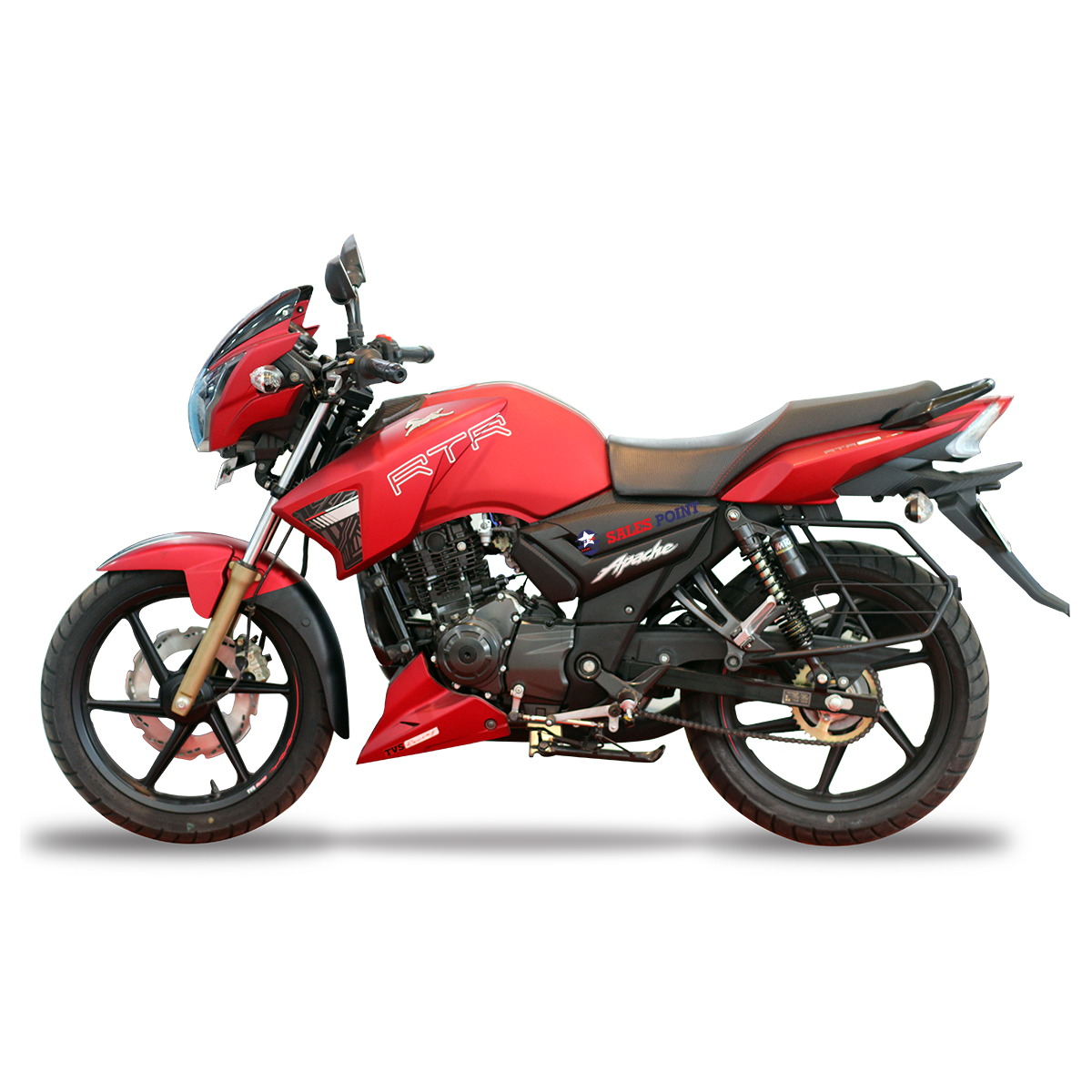 TVS Apache RTR 160CC Motorcycle (SD) (Race Edition)