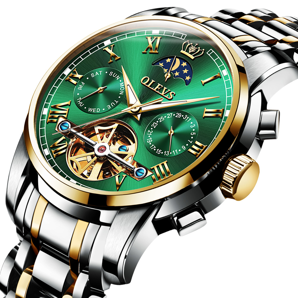 OLEVS 6617 Stainless steel Premium Automatic Watch For Men