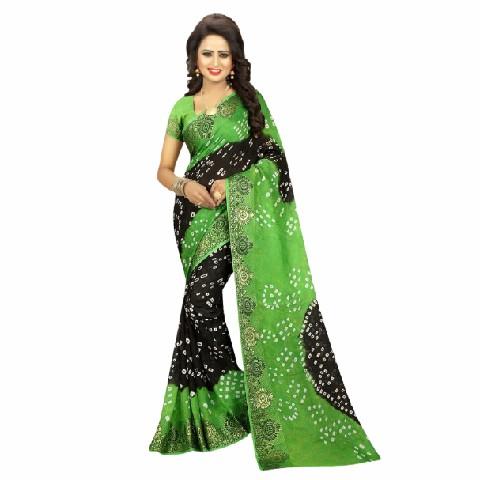 Bandhani Indian Saree