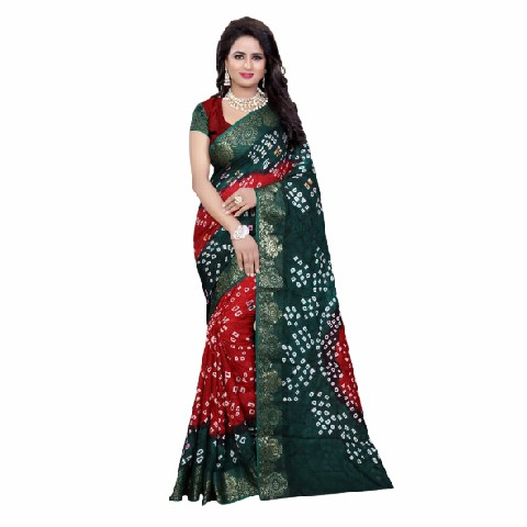 Art Silk With Zari Weaving Saree