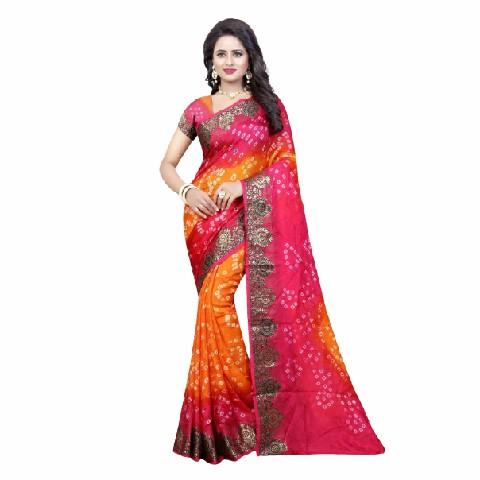 Art Silk Saree Indian