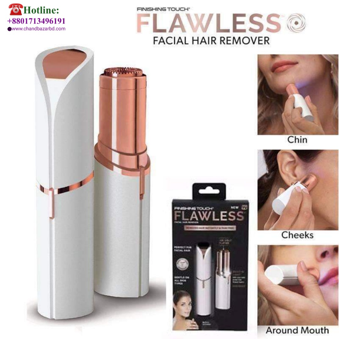 Flawless Painless Facial Hair Remover