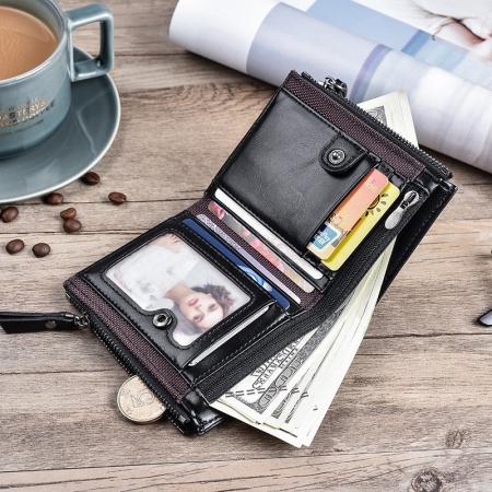 Exclusive deigned Zipper Wallet for Men
