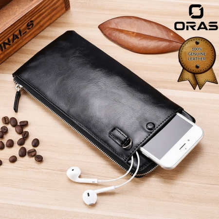 exclusive deigned  Leather Mobile Phone Wallet for man
