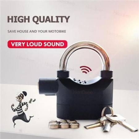 High security Alarm Lock