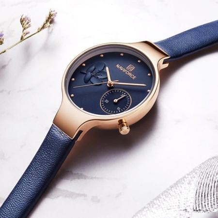 NEW DEGINE Fashion Watch FOR WOMEN - Naviforce 5001