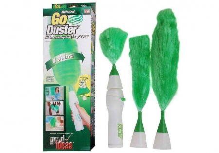 Battery operated 'Cotton Go duster for Dusting '