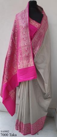 Stylish Raw Silk Saree.