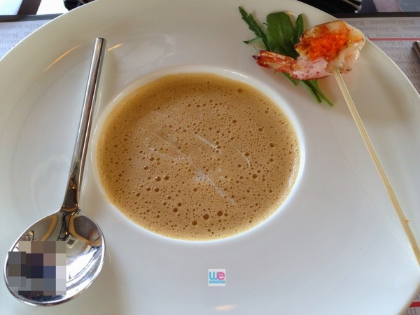 Cappuccino Shrimp Bisque