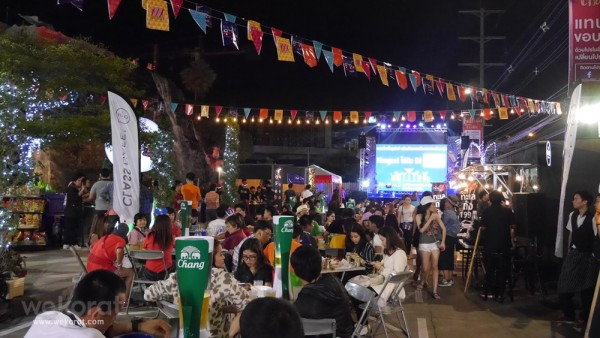 บรรยากาศงาน The Mall New Year Street Food Fair
