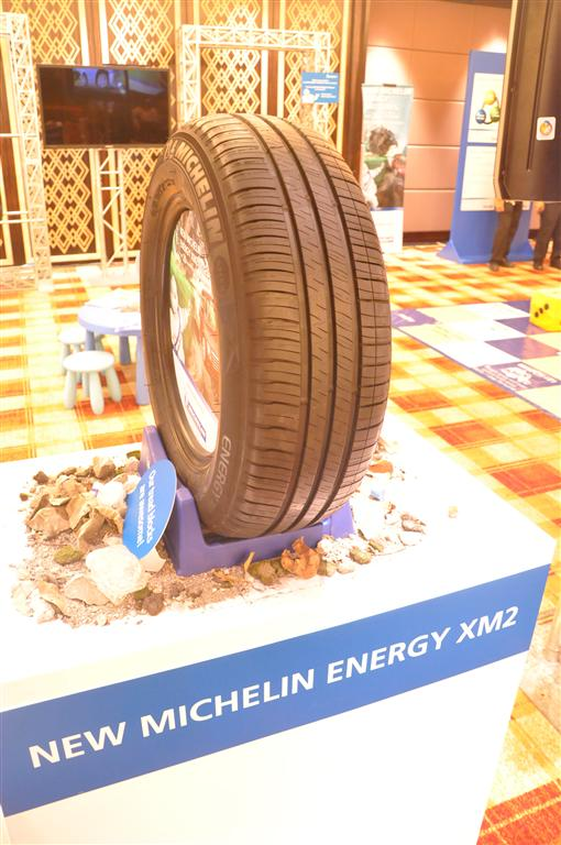 launch michelin energy xm2 quietly helps save fuel. Black Bedroom Furniture Sets. Home Design Ideas