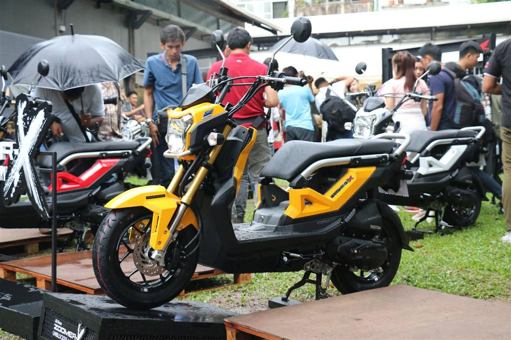 Honda Introduces 2nd-Generation Zoomer-X Scooter In Thailand