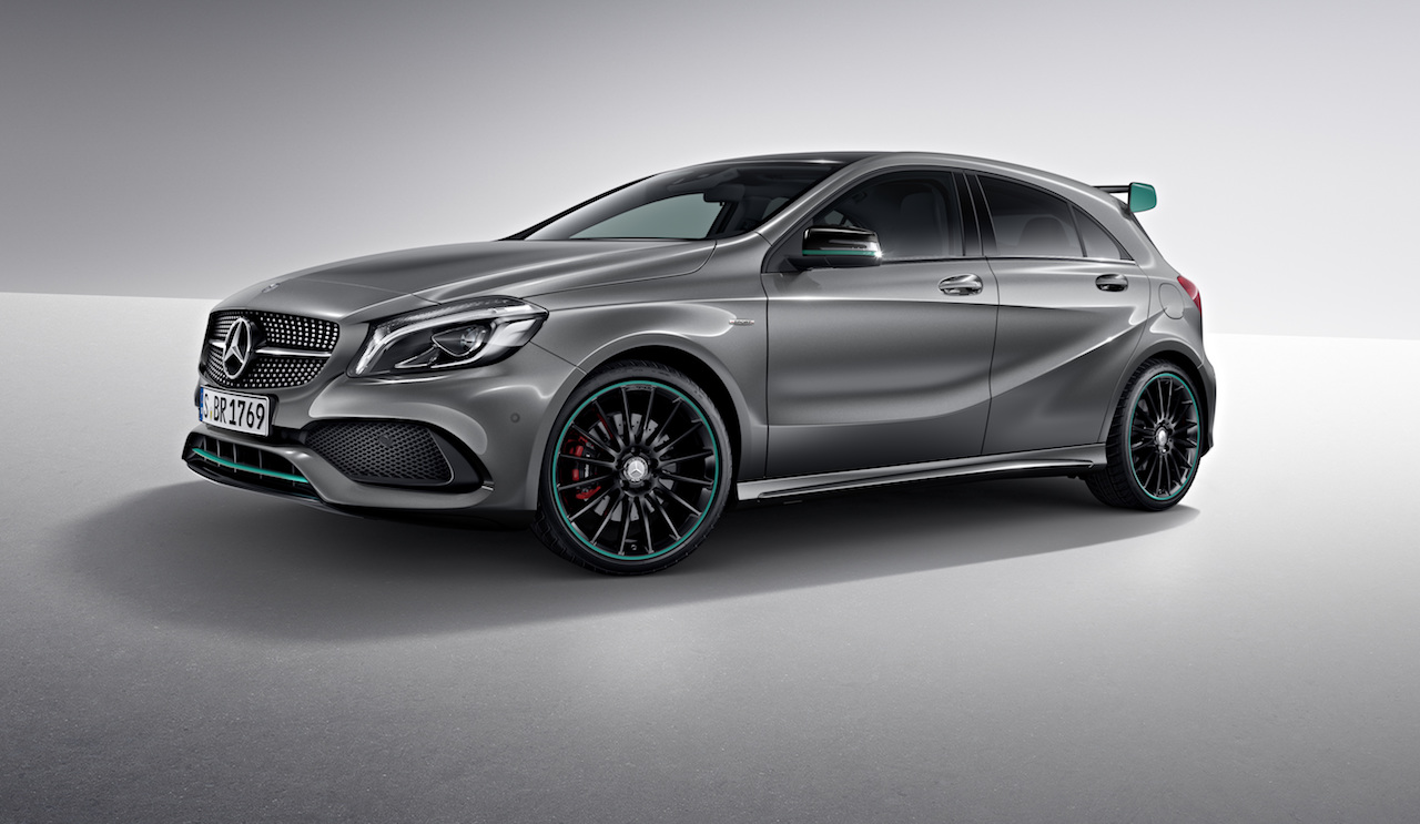 Mercedes benz a 250 motorsport edition now available in for Mercedes benz motorsport