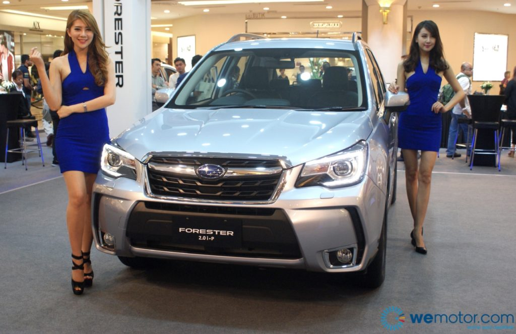 2016 Subaru Forester Facelift Launch 04