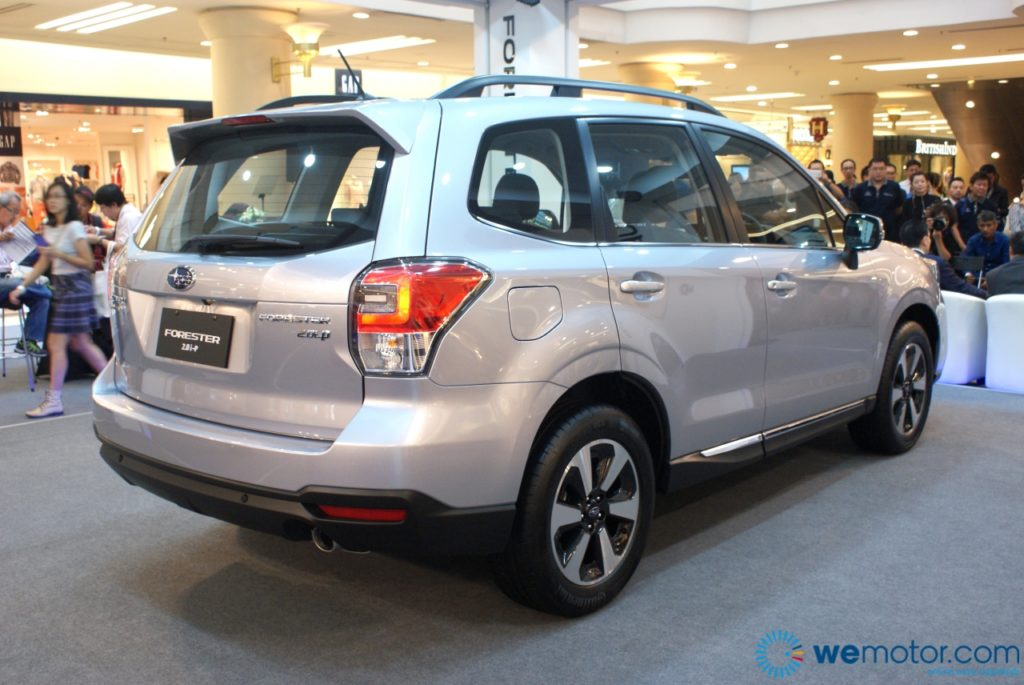 2016 Subaru Forester Facelift Launch 09