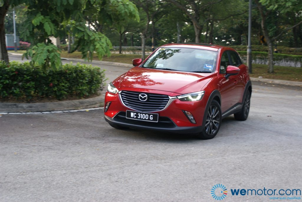 Mazda CX-3 Test Drive Review 03