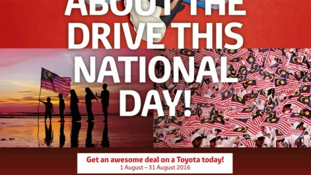 Toyota National Day Promotion