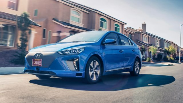 Hyundai Ioniq Autonomous Vehicle