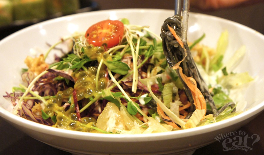 Charcoal Noodle