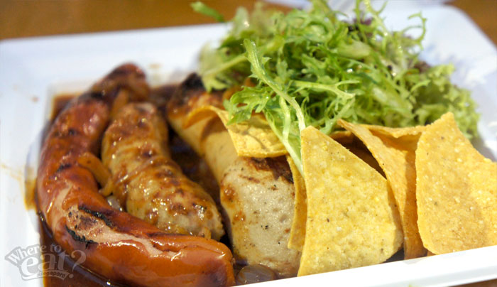 Sausage Platter with Beer Sauce (200g)