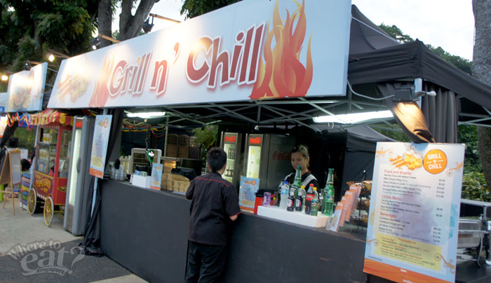 Grill & Chill Sentosa Merlion Plaza