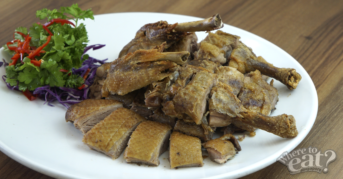 Crispy Herbal Duck