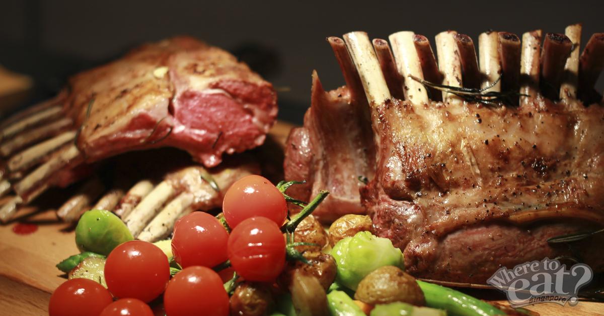 Oven-Baked Australian Lamb Rack