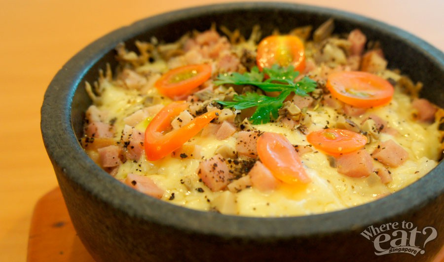 Ham & Cheese Rice