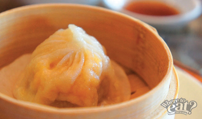 Steamed Shanghai Xiao Long Bao with Hairy Crab Meat