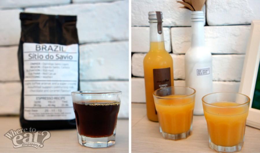 Espresso, Pear Nectar