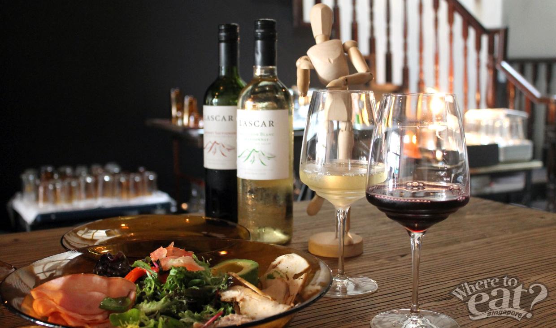Sarsi and Lascar Wine