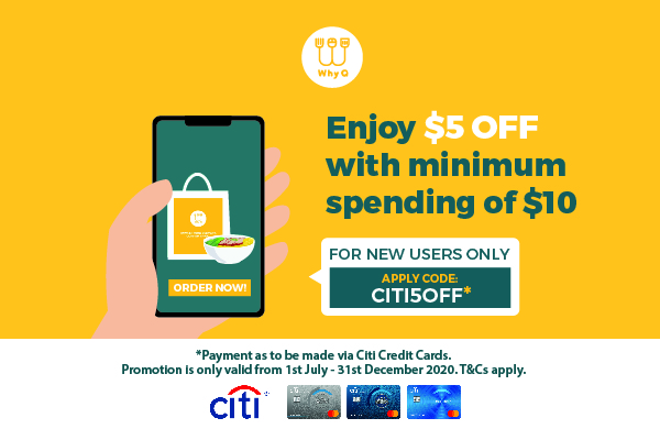 WhyQ Promotion CITI5OFF