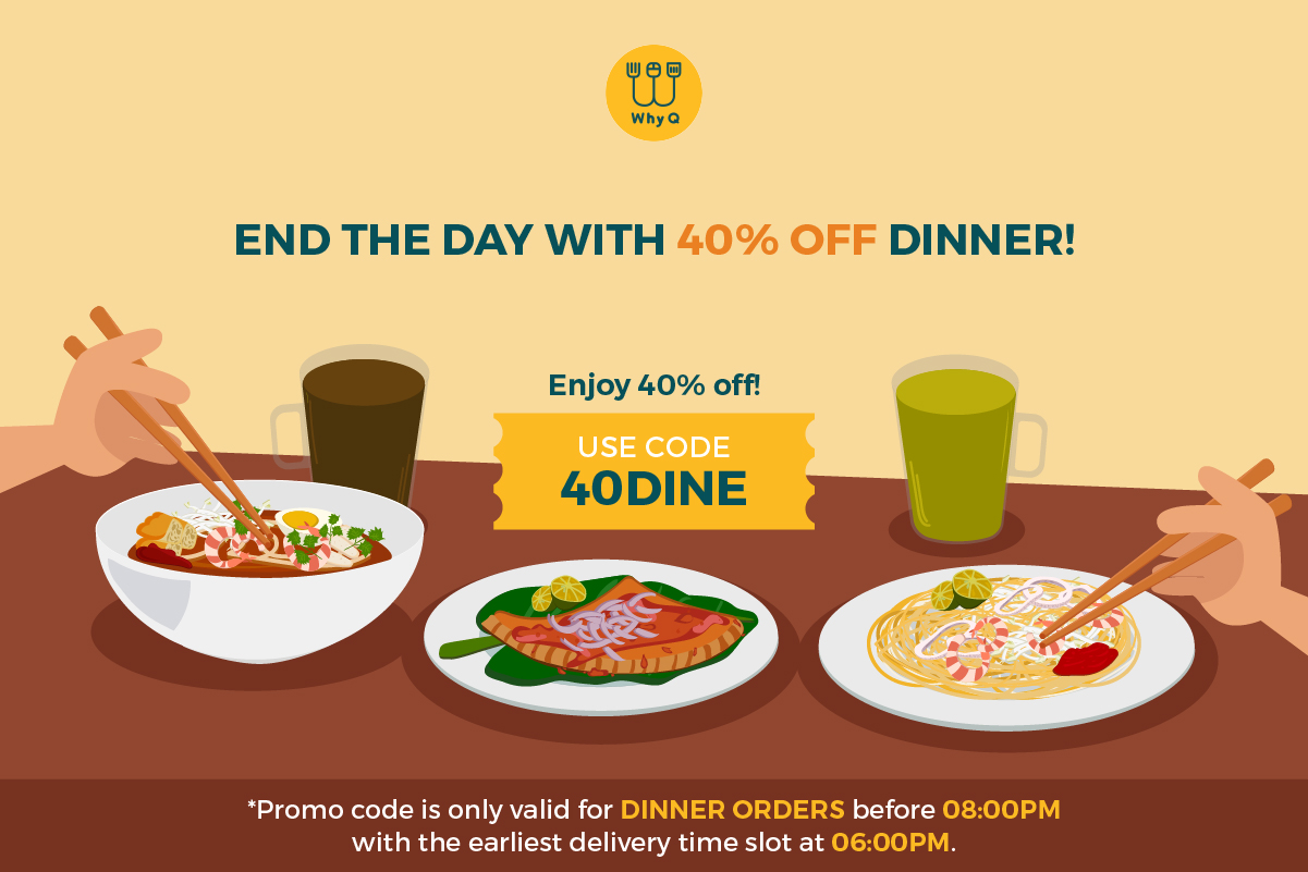 WhyQ Promotion 40DINE