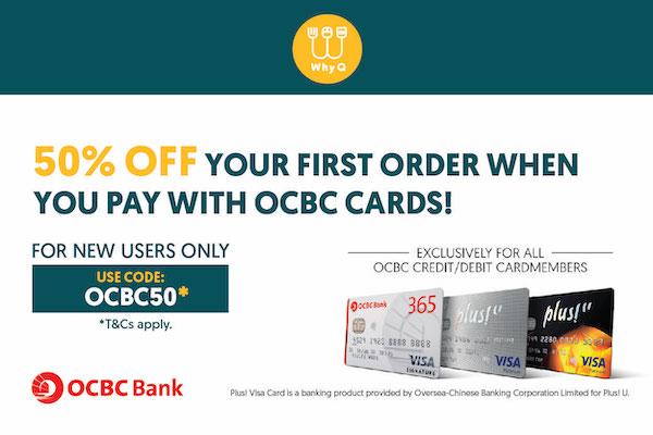 WhyQ Promotion OCBC50