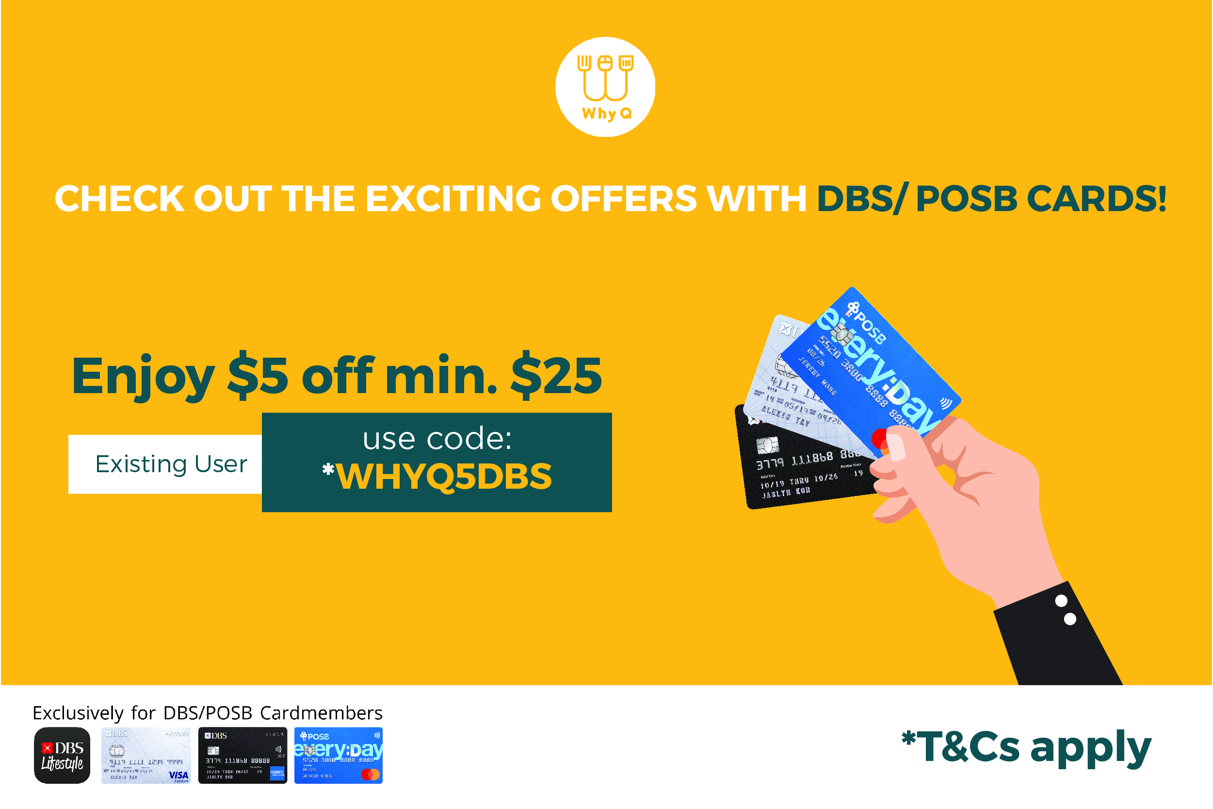 WhyQ Promotion WHYQ5DBS