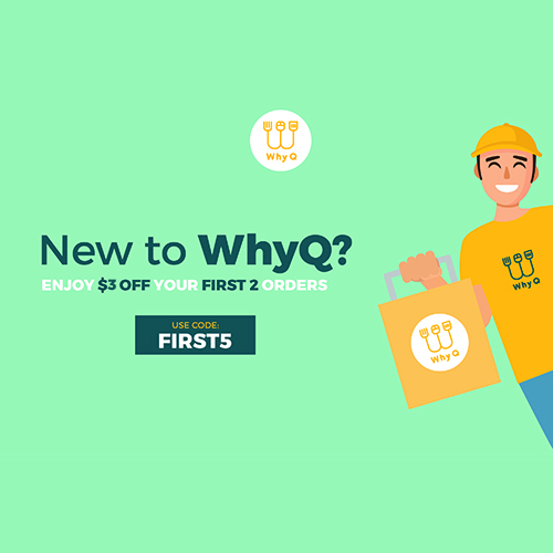 WhyQ Promotion FIRST5
