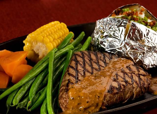 Black Pepper Steak (200g)