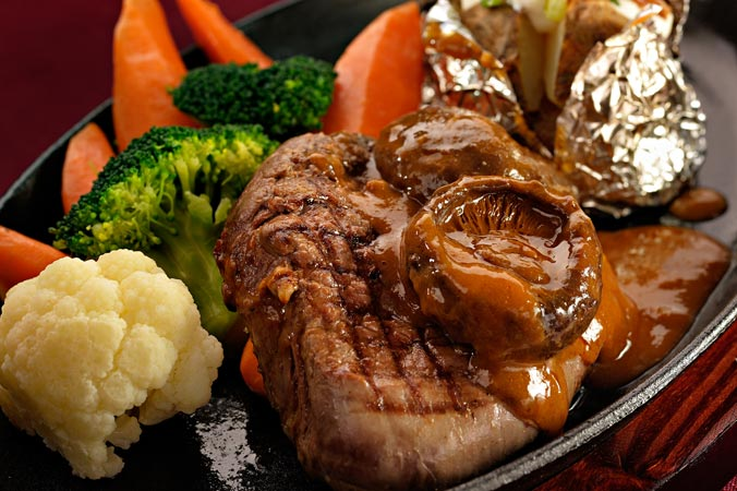 Black Mushroom Steak (200g)